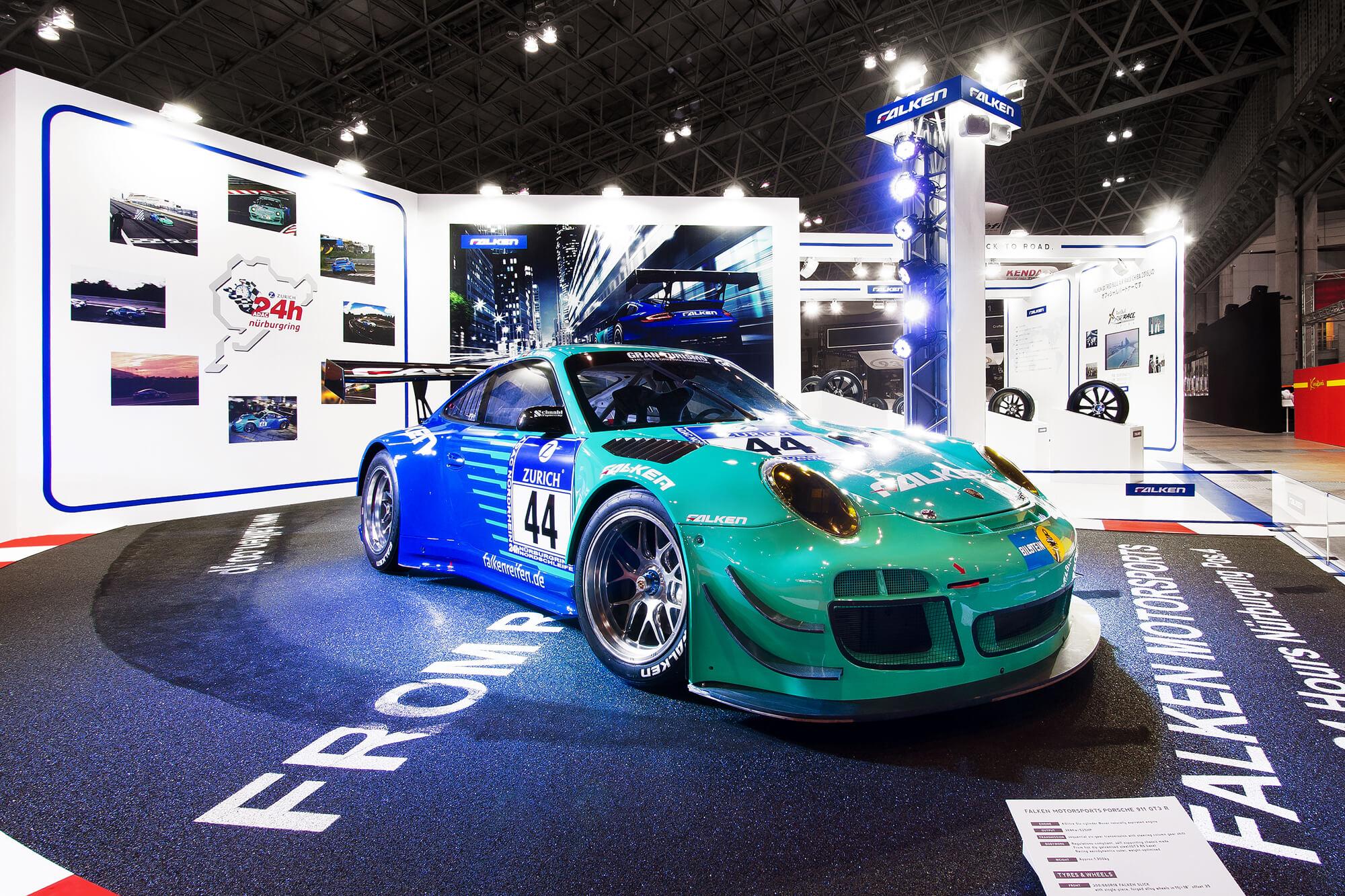 Tokyo auto salon 2015 falken booth kuroko inc - Tokyo auto salon 2015 ...